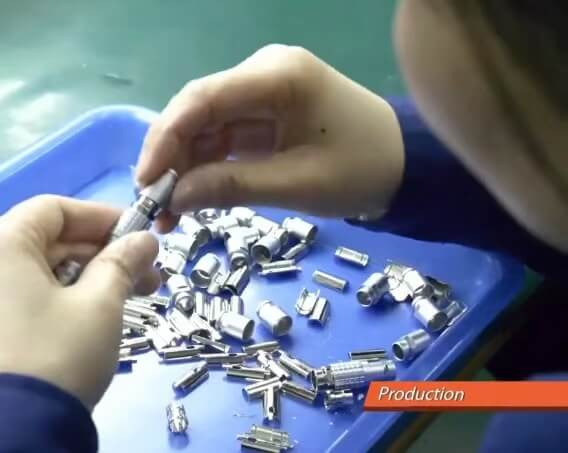 circular connector quality control