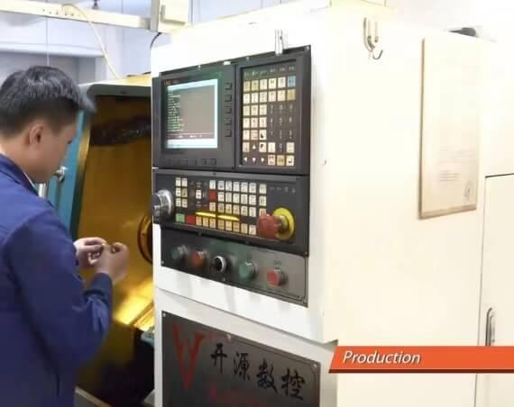 connector machine process