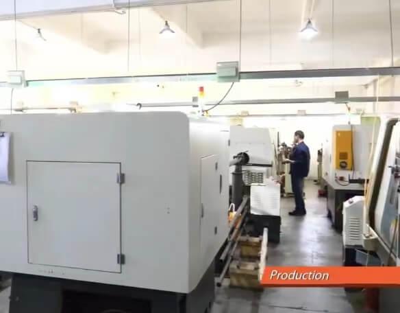 CNC machine process connector